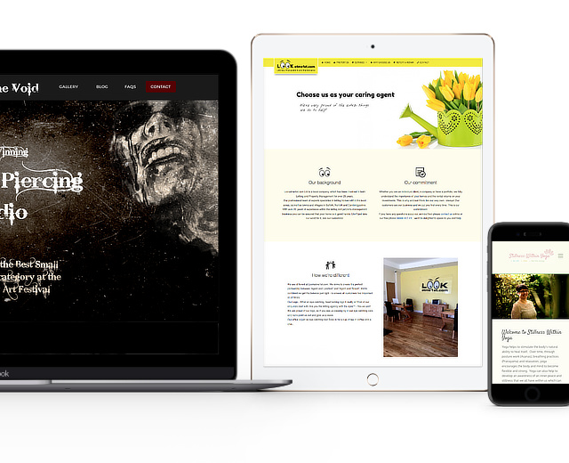 Responsive web design by Top Pixel web agency
